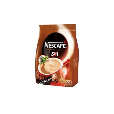 Nescafé 3v1 Brown Sugar 10 x 16,5 g
