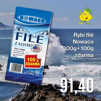 Rybí filé Nowaco 300 g + 100 g zdarma