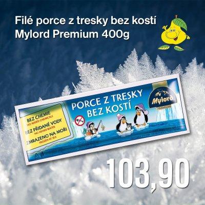 Filé porce z tresky bez kostí Mylord Premium 400 g