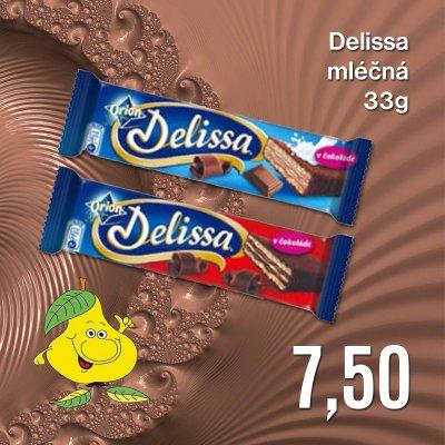 Delissa mléčná 33 g