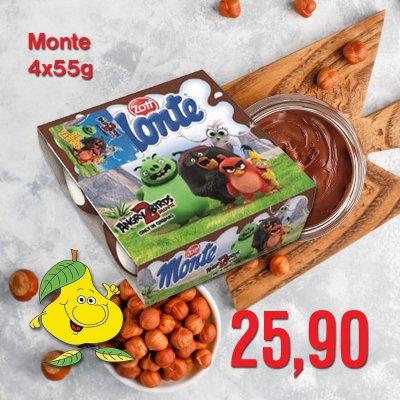 Monte 4 x 55 g