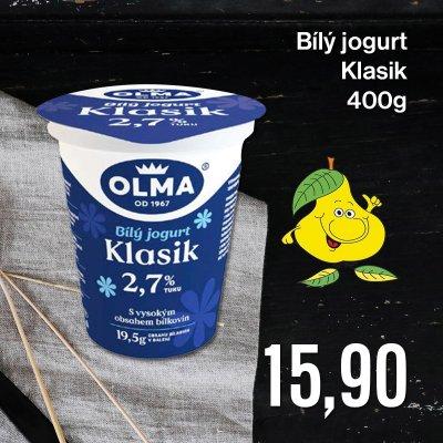 Bílý jogurt Klasik 400 g