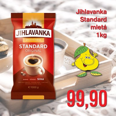 Jihlavanka Standard mletá 1 kg