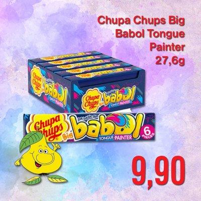 Chupa Chups Big Babol Tongue Painter 27,6 g