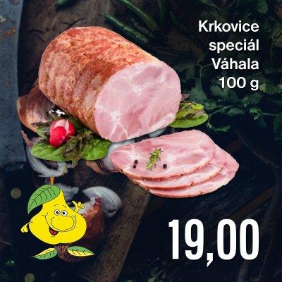Krkovice speciál Váhala 100 g