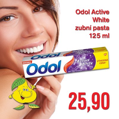 Odol Active White zubní pasta 125 ml