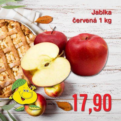Jablka červená 1 kg