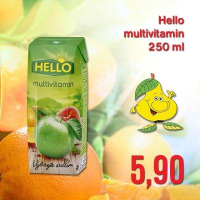 Hello multivitamin 250 ml