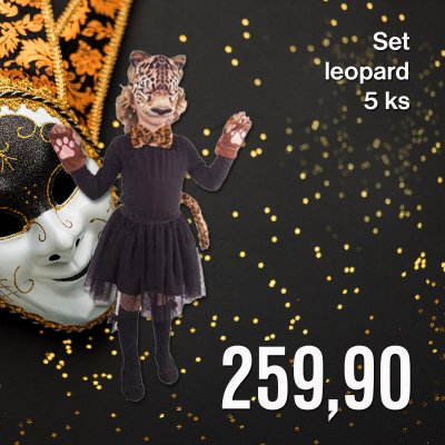 Set leopard 5 ks