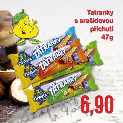 Tatranky s arašídovou příchutí 47 g