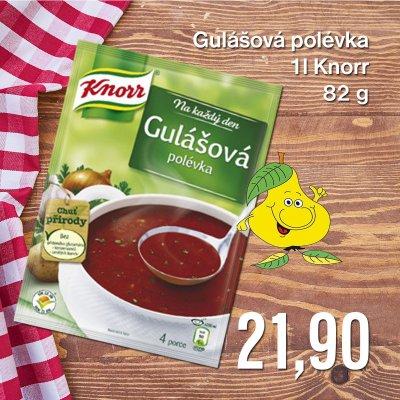 Gulášová polévka 1 l Knorr 82 g
