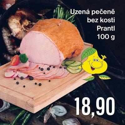Uzená pečeně bez kosti Prantl 100 g
