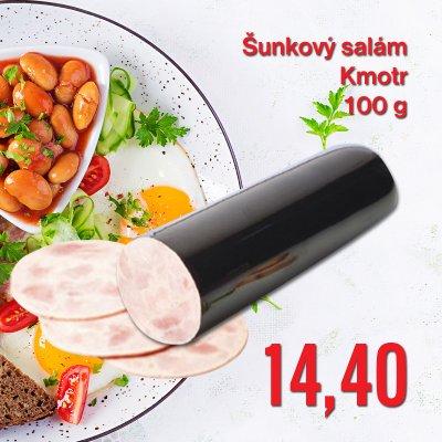 Šunkový salám Kmotr 100 g