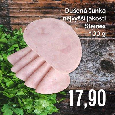 Dušená šunka nejvyšší jakosti Steinex 100 g