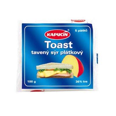 Toast plátkový tavený sýr 100 g