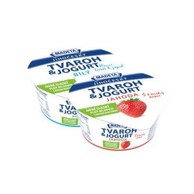 Tvaroh & jogurt jahoda 135 g