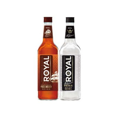 Royal Krásnobřezenský Tuzemský / Vodka 0,5 l