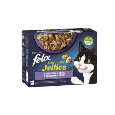 Felix Sensations výběr v želé 12 x 85 g