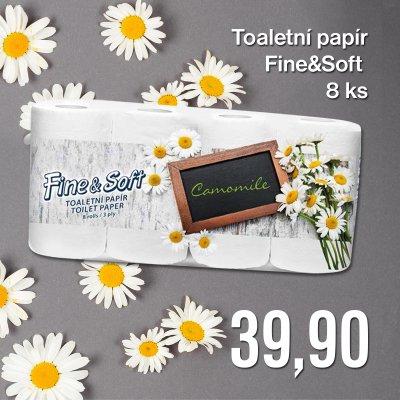 Toaletní papír Fine&Soft Camomile 8 ks