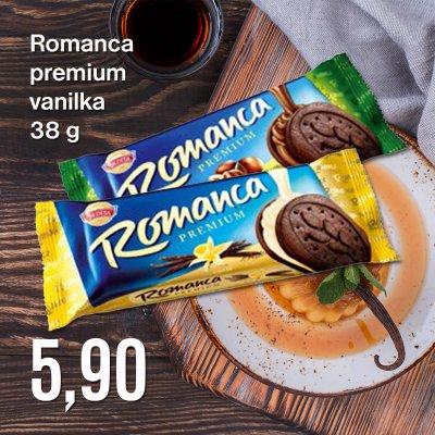 Romanca premium vanilka 38 g