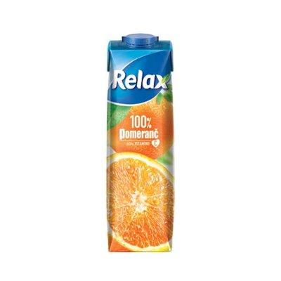 Relax 100% pomeranč 1 l