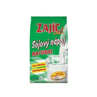 Zajíc Natural sójový nápoj 400 g