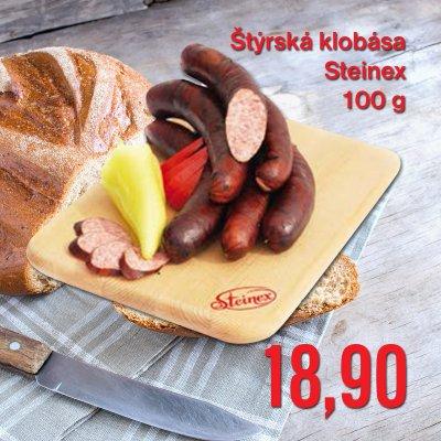 Štýrská klobása Steinex 100 g