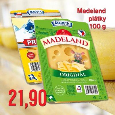 Madeland plátky 100 g