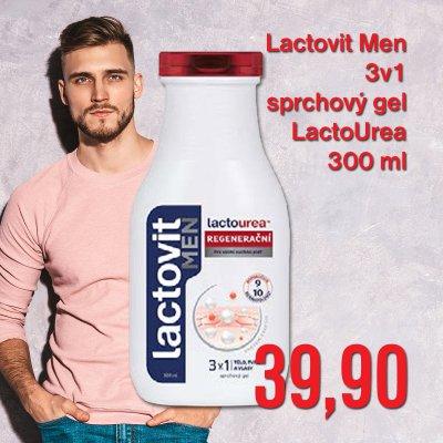 Lactovit Men 3v1 sprchový gel 300 ml