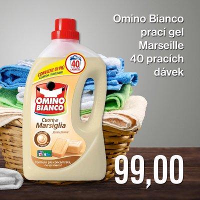 Omino Bianco prací gel Marseille 40 pracích dávek