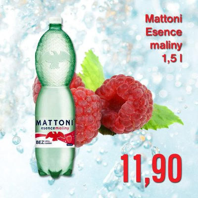 Mattoni Esence maliny 1,5 l