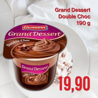 Grand Dessert Double Choc 190 g