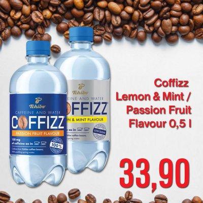Coffizz Lemon & Mint / Passion Fruit Flavour 0,5 l