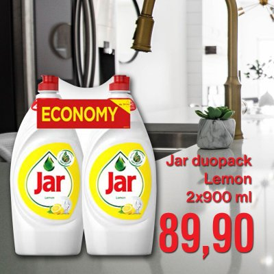 Jar duopack Lemon 2 x 900 ml