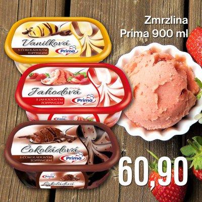 Zmrzlina Prima 900 ml