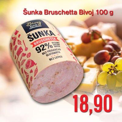 Šunka Bruschetta Bivoj 100 g