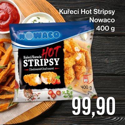 Kuřecí Hot Stripsy Nowaco 400 g