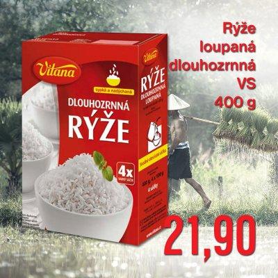 Rýže loupaná dlouhozrnná VS 400 g