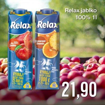 Relax jablko 100% 1 l