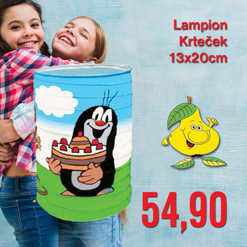 Lampion Krteček 13 x 20 cm