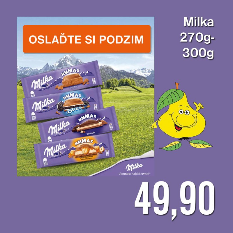 Milka 270 g - 300 g