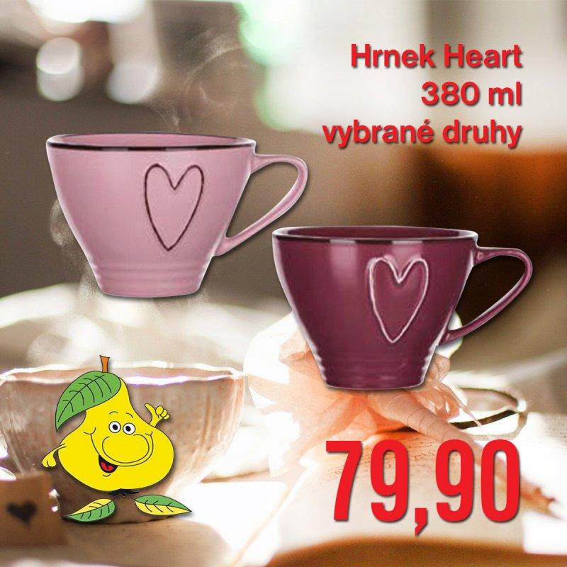 Hrnek Heart 380 ml