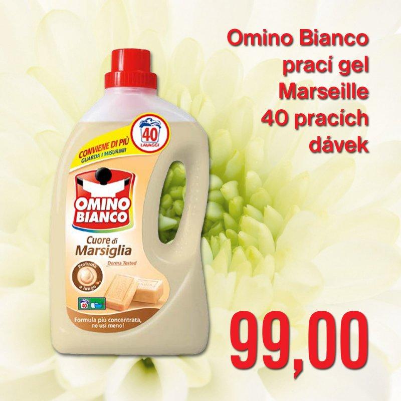 Omino Bianco prací gel Marseille