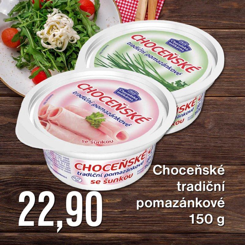 Choceňské tradiční pomazánkové 150 g