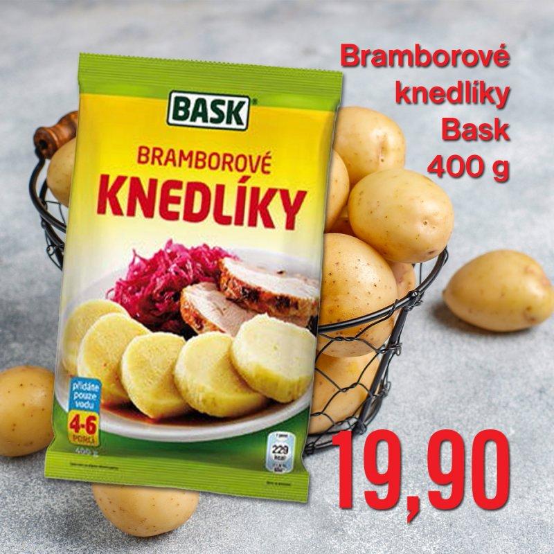 Bramborové knedlíky Bask 400 g